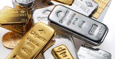 Absatz-Boom Degussa bei Goldhandel