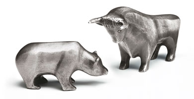 Degussa Goldhandel a bull in a bearish gold market