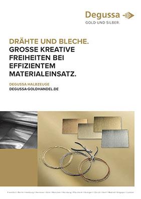 Produktdatenblatt Draehte und Bleche
