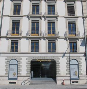 Niederlassung Degussa Genf