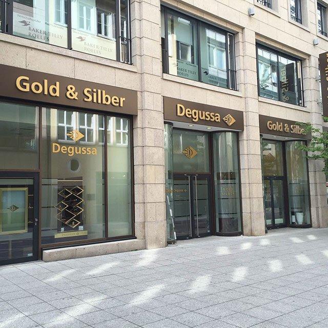Stuttgart Degussa Goldhandel