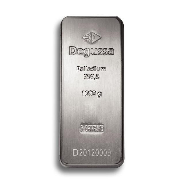 Degussa Goldhandel Palladiumbarren 1 kg