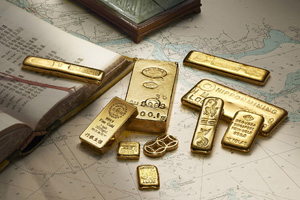 Degussa erwirbt größte Goldbarren-Sammlung