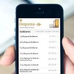 Degussa Goldhandel App