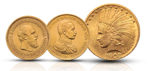 Degussa-Goldhandel-Numismatik