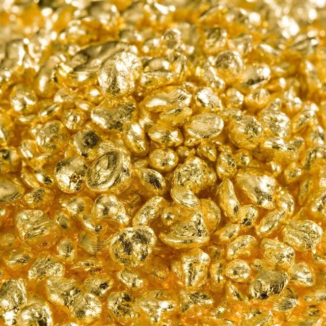 Degussa Goldhandel Goldgranalien