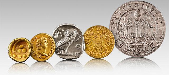 Numismatik Degussa Goldhandel