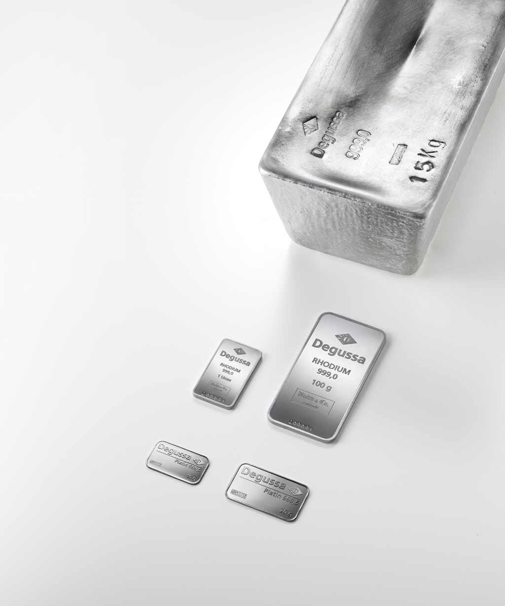 Degussa Goldhandel Platin Rhodium Silber 15kg Degussa Goldhandel