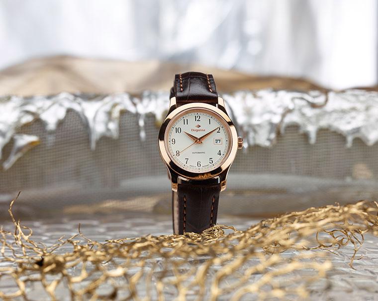 Degussa-Goldhandel-Uhr-Kruegerrand