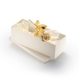 Degussa Goldhandel Goldrose Premium 40 cm