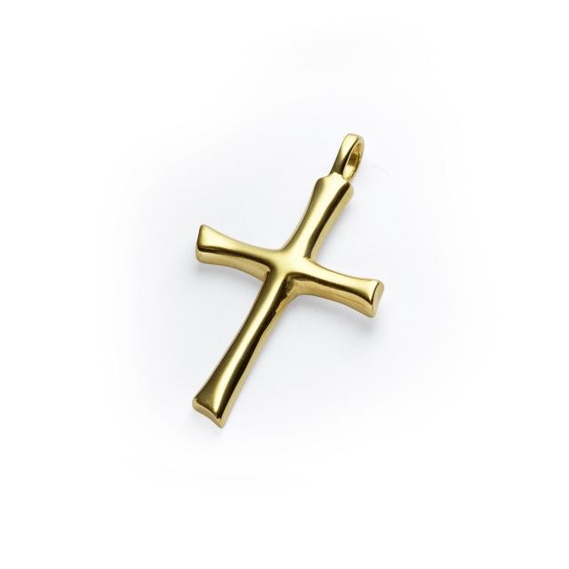 Degussa Goldhandel Kreuz Anhänger Gold