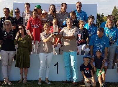 Degussa Goldhandel Polo-Turnier Siegerehrung