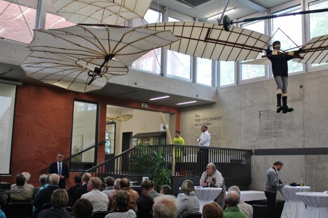 Degussa Veranstaltung im Otto Lilienthal Museum Stölln