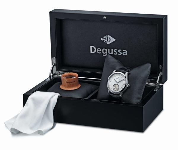 Degussa Palladiumuhr mit Box