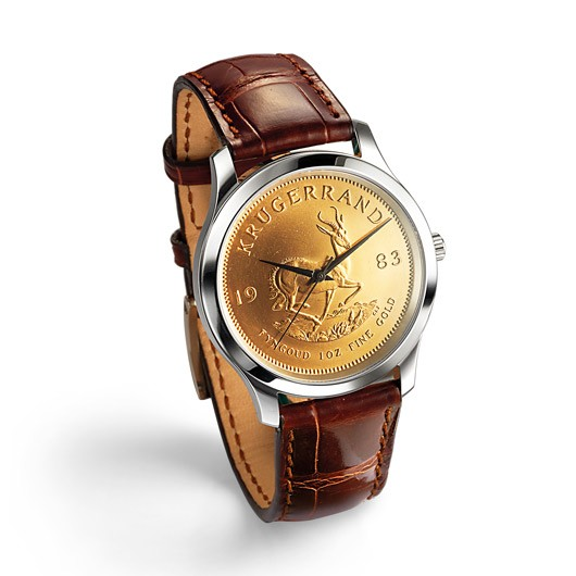 Armbanduhr Krügerrand