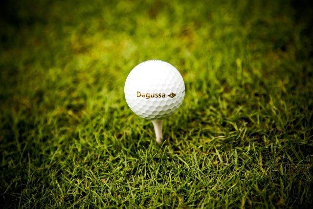 Degussa Golfturnier Ball