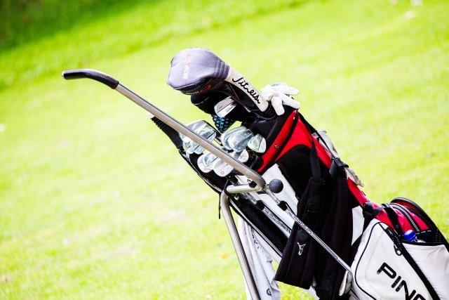 Degussa Golfturnier Caddy