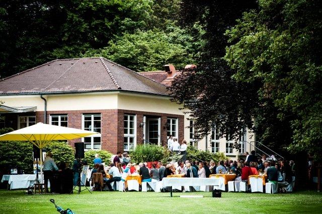 Degussa Golfturnier Clubhaus