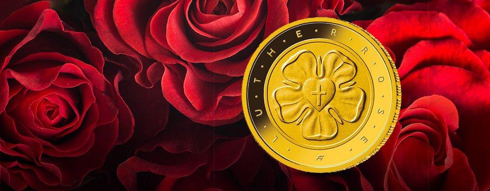 50 Euro Goldmünzen Nach Lutherrose Legt Die Bundesrepublik