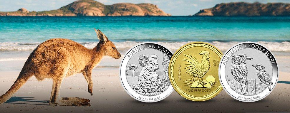 Degussa News Australische Anlagemuenzen