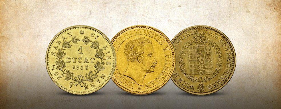 Historische Göldmünzen