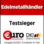 eas testsiegel bester edelmetallhndler 2017