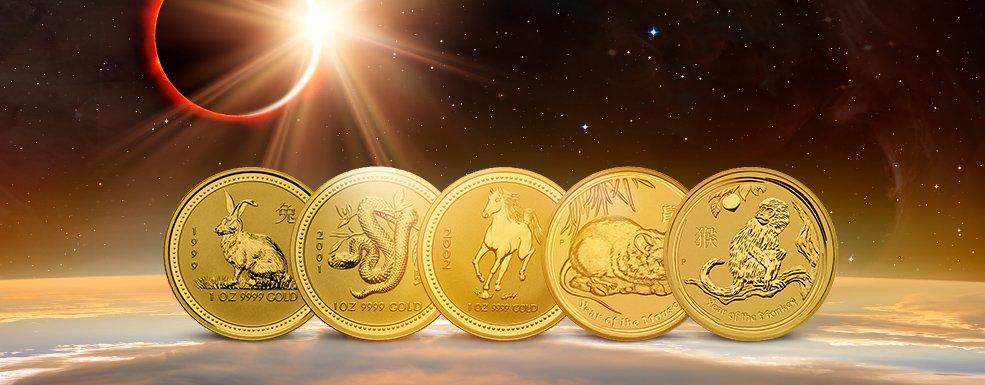 Lunar-Münzen: Ein numismatischer Evergreen