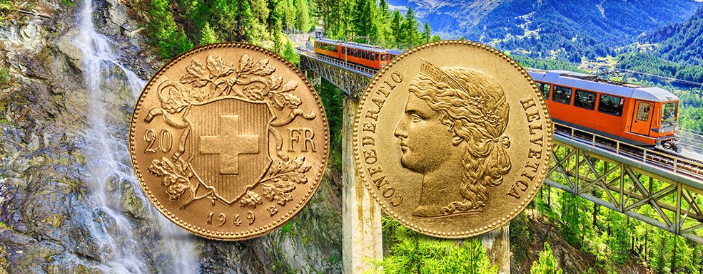 Ein sicherer Hafen in den Alpen: Schweizer Goldmünzen für Anleger und Sammler
