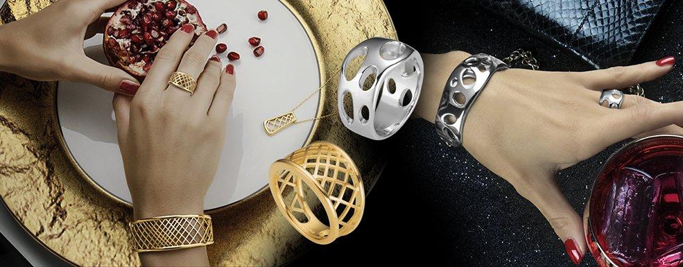 Eine Zierde für jede Hand: Degussa präsentiert VIAKORO Ringe in Gold und Silber