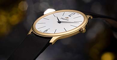 TRENDS WATCHES: Dreimal Gold!