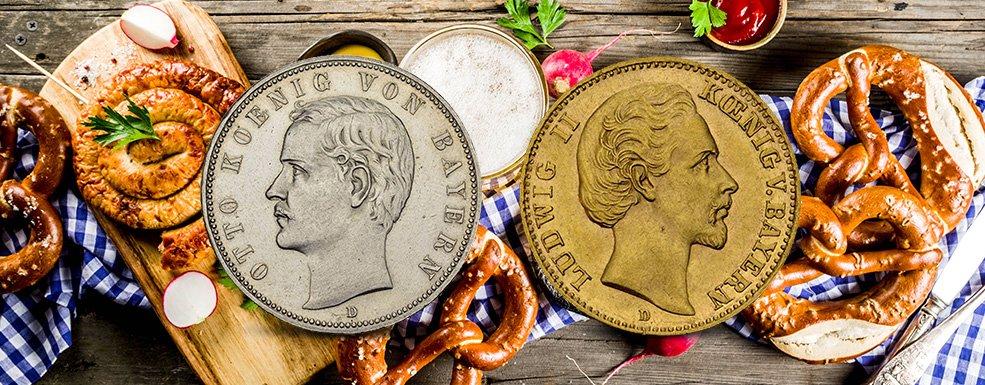 Münzen Aus Bayern Raritäten Nicht Nur Für Stolze Sammler Aus Dem