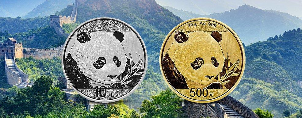 China Panda in Gold und Silber: Wie ein Bär zum numismatischen Botschafter wurde