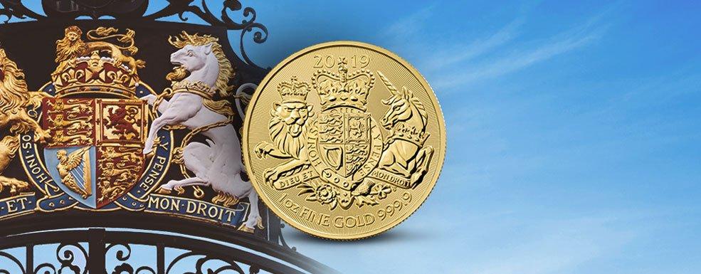 Royal Arms: Großbritannien setzt vor dem Brexit ein Zeichen für Tradition in Gold