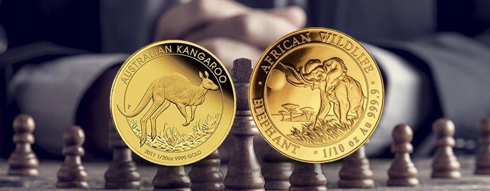 Investment-Strategie: Große oder kleine Goldmünzen kaufen?