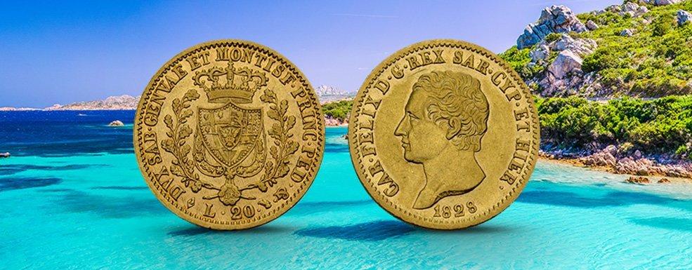 Goldmünzen aus Sardinien: Numismatische Zeitreise in die italienische Gründerzeit
