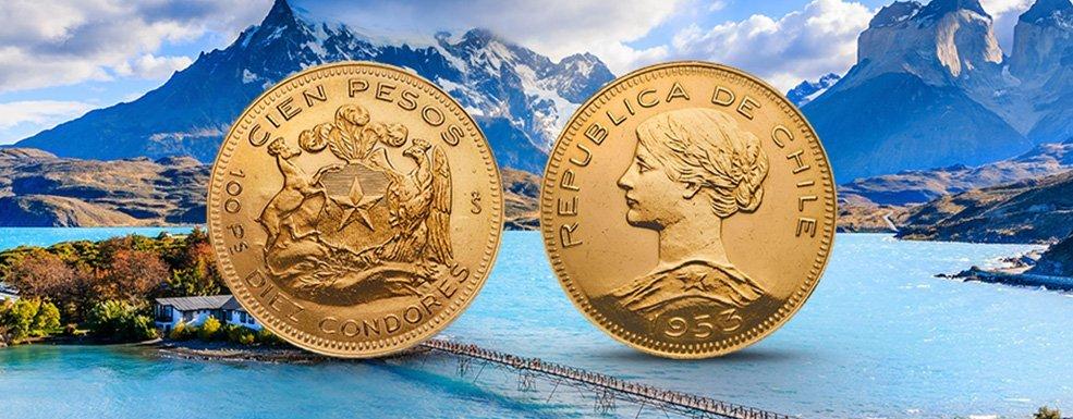 Goldmünzen aus Chile: Lady Liberty aus den Anden