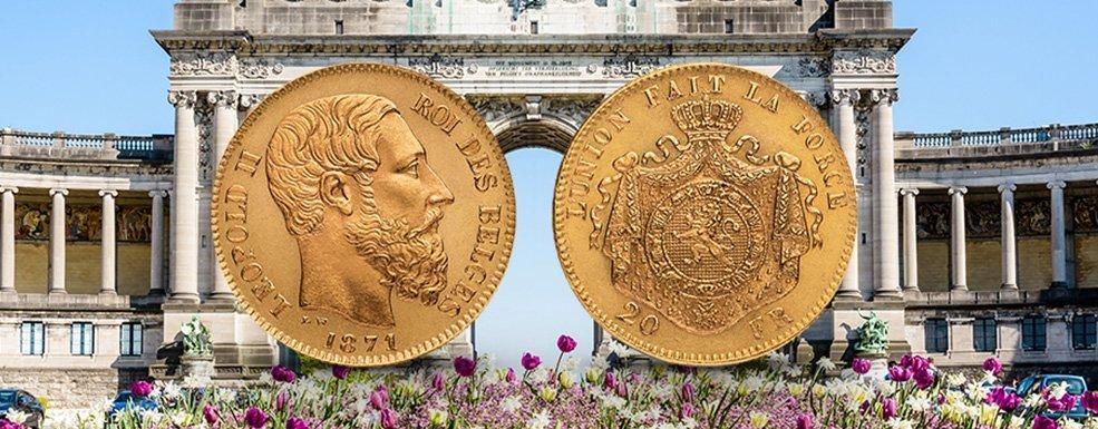 Goldmünzen aus Belgien: Ein Platz an der Sonne um jeden Preis
