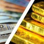 200 Euro scheine und Goldbarren