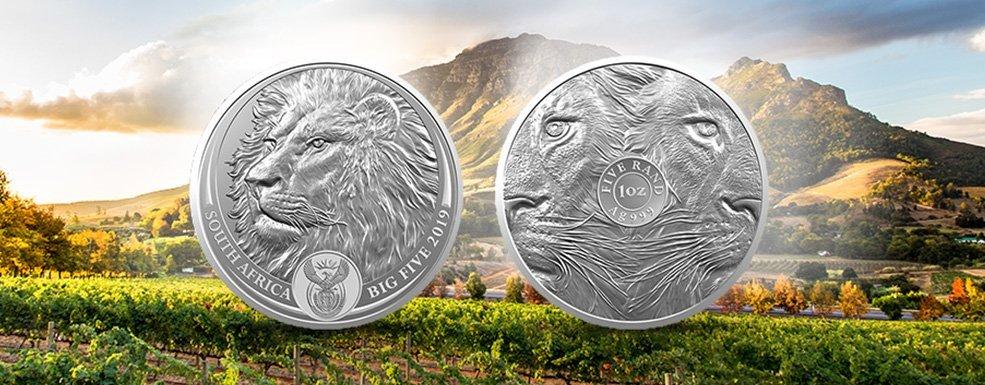 Big Five Silbermünze: Eine Sammlermünze mit Investment-Potenzial