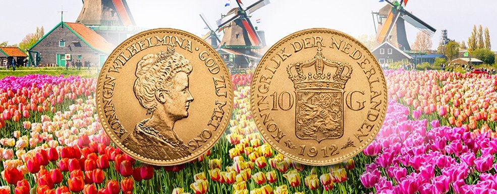 Goldmünzen aus den Niederlanden: Die vergessene Jahrhundert-Monarchin