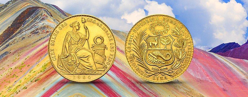 Das Gold der Sonne Südamerikas: Soles und Libra aus Peru