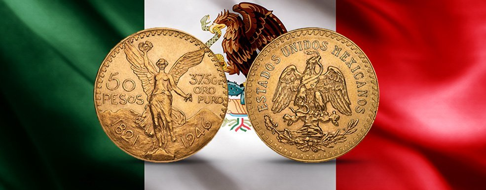 Centenario: Prächtige XXL-Goldmünzen aus Mexiko