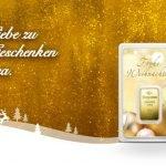 Schenken Sie Liebe zu Weihnachten – mit Geschenken aus Gold und Silber