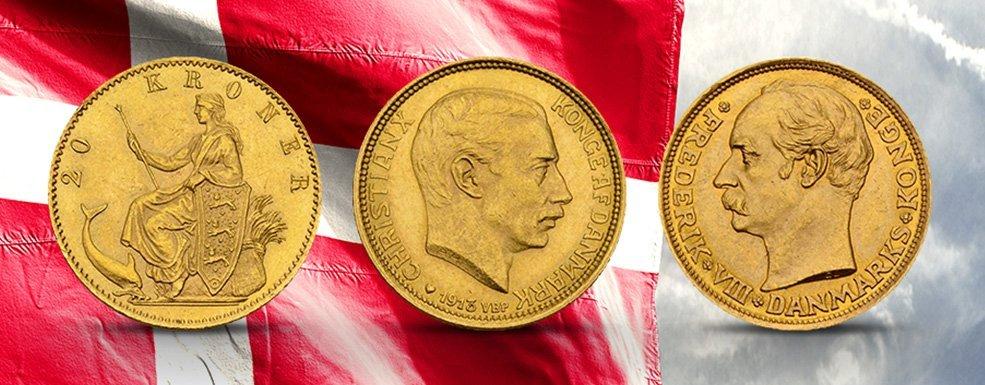 """Historische Kurantmünzen aus Dänemark: Der """"Schwiegervater Europas"""" in Gold"""