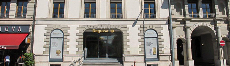Degussa Niederlassung Genf