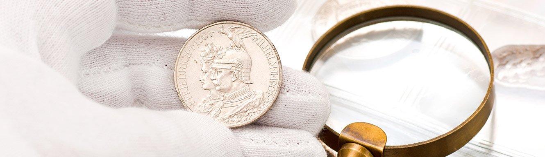Gutachten für Münzen ab 1871