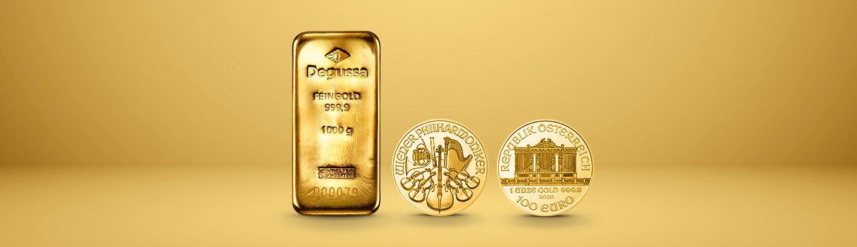 Edelmetallübersicht Gold