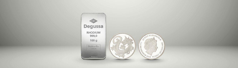 Edelmetallübersicht Rhodium