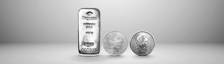 Edelmetallübersicht Silber