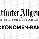 Ranking der einflussreichsten Ökonomen Deutschlands 2020.